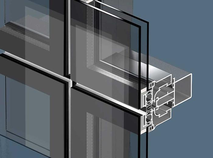 Изготовление светопрозрачных фасадов