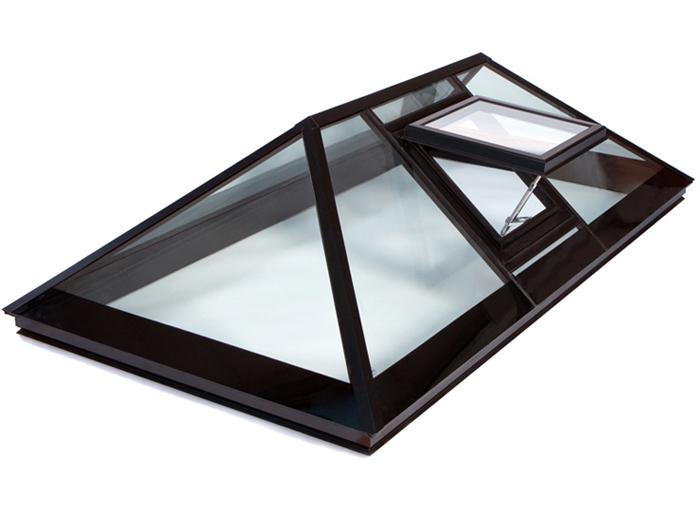 Зенитные фонари из алюминиевого профиля